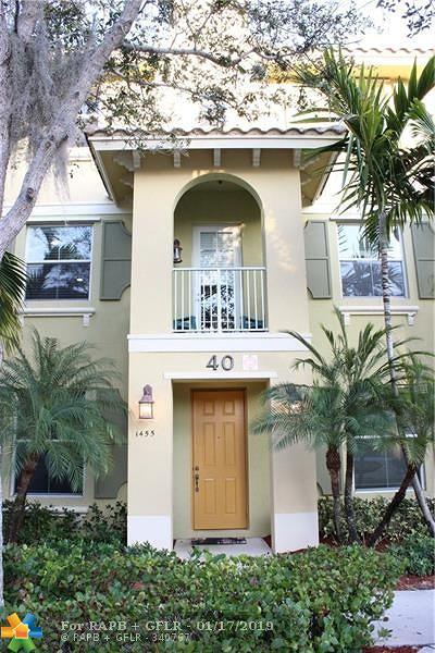 Boca Raton, Delray Beach, Boynton Beach Condo/Townhouse For Sale: 1455 Via Alferi #1455