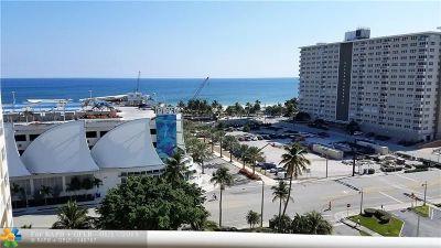 Pompano Beach Condo/Townhouse For Sale: 201 N Ocean Blvd #1105