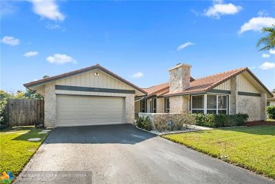 Coral Springs FL Single Family Home For Sale: $414,000