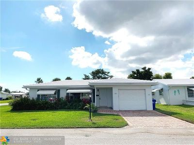 Pompano Beach FL Single Family Home For Sale: $222,788