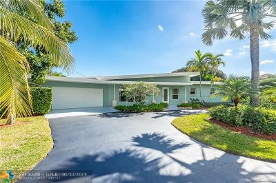 Fort Lauderdale Single Family Home For Sale: 750 NE 24th Way