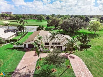 Coral Springs Single Family Home For Sale: 3161 NW 112th Avenue
