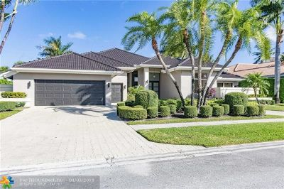 Boca Raton Single Family Home For Sale: 4180 Bocaire Blvd