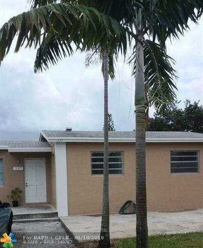 Boynton Beach Single Family Home For Sale: 237 NW 28th Ave
