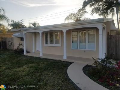 Pompano Beach FL Single Family Home For Sale: $229,900