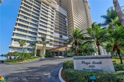 Fort Lauderdale Condo/Townhouse For Sale: 4280 Galt Ocean Dr #5L