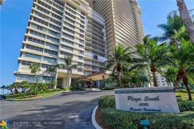 Fort Lauderdale Condo/Townhouse For Sale: 4280 Galt Ocean Dr #5L
