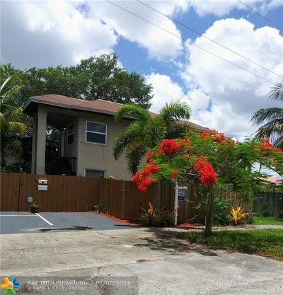 Fort Lauderdale Multi Family Home For Sale: 708 NE 14th Pl