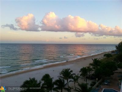 Pompano Beach FL Condo/Townhouse For Sale: $525,000