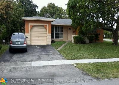 Lauderhill Single Family Home Backup Contract-Call LA: 2421 NW 43rd Ter