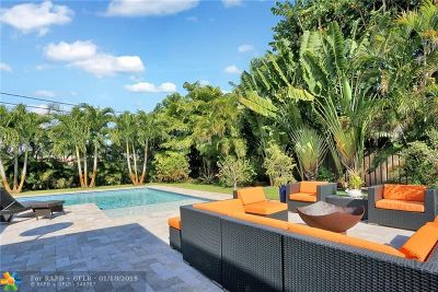 Wilton Manors Single Family Home For Sale: 529 NE 25th St