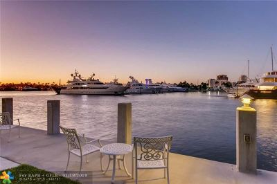 Fort Lauderdale Condo/Townhouse For Sale: 3025 Harbor Dr #9