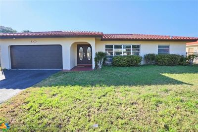 Tamarac Single Family Home For Sale: 8303 NW 73rd Ter