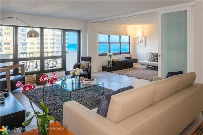 Lauderdale By The Sea Condo/Townhouse For Sale: 5000 N Ocean Blvd #710