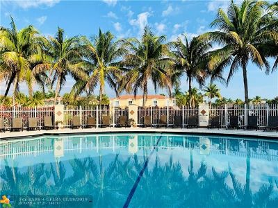 Miramar Condo/Townhouse For Sale: 3068 SW 129th Ter #109