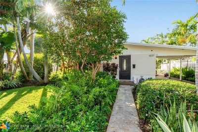 Poinsettia Heights Single Family Home For Sale: 1637 NE 17th Way