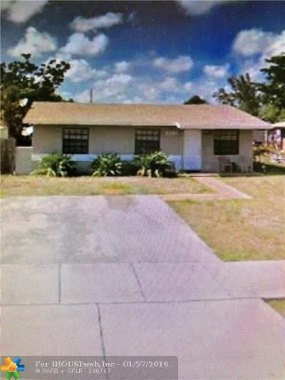 Fort Lauderdale Single Family Home For Sale: 2891 NW 25th St