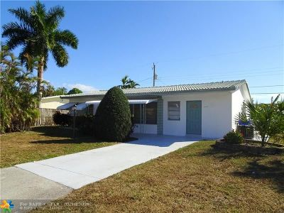 Pompano Beach FL Single Family Home For Sale: $259,900