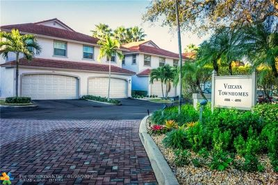 Condo/Townhouse For Sale: 4088 W Palm Aire Dr #24