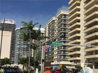 Surfside Condo/Townhouse For Sale: 9595 Collins #N7-E
