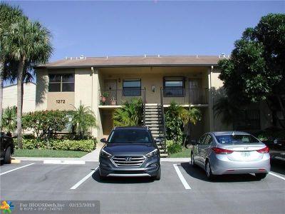 Deerfield Beach Condo/Townhouse For Sale: 1272 S Military Trl #322