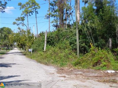 Parkland Residential Lots & Land For Sale: 0000 NW 74th Ter