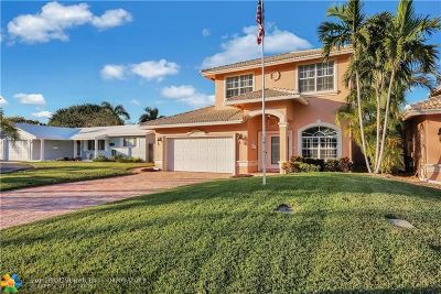 Pompano Beach Single Family Home For Sale: 2831 NE 16th St