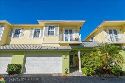 Wilton Manors Condo/Townhouse Backup Contract-Call LA: 2632 NE 9th Ave #2632