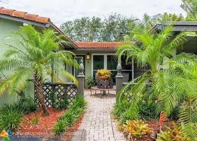 Wilton Manors Single Family Home For Sale: 8 NE 29th St