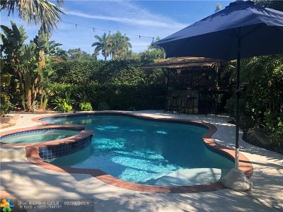 Fort Lauderdale Single Family Home For Sale: 2610 Yacht Club Blvd