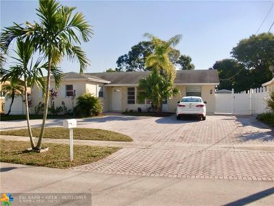 Single Family Home For Sale: 6750 NW 7th Ct