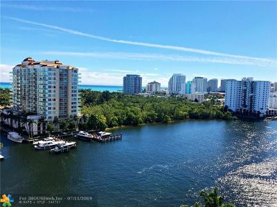 Fort Lauderdale Condo/Townhouse For Sale: 2670 E Sunrise Blvd #1222