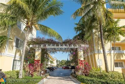 Fort Lauderdale Condo/Townhouse For Sale: 1501 E Broward Blvd #502