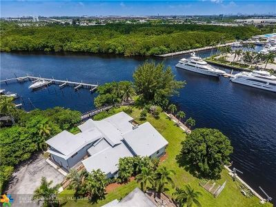 Fort Lauderdale, Lauderdale By The Sea, Lighthouse Point, Oakland Park, Pompano Beach Single Family Home For Sale: 2630 SW 29th Way