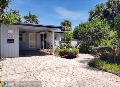Fort Lauderdale Single Family Home For Sale: 1514 SW 9th Ave