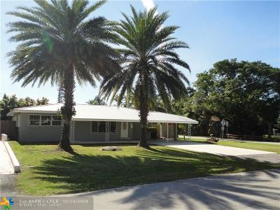Fort Lauderdale Single Family Home For Sale: 800 NE 18th St