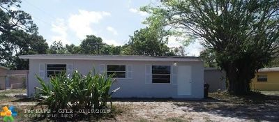 Fort Lauderdale Rental For Rent: 1553 NW 15th Ter