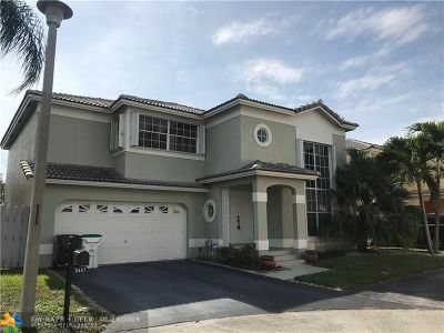 Coconut Creek Rental For Rent: 5447 NW 44th Way