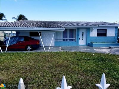 Pompano Beach Single Family Home For Sale: 900 NW 23rd Ter
