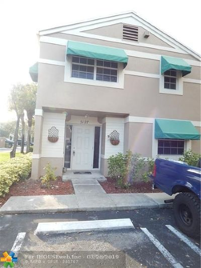 Broward County Condo/Townhouse For Sale: 5127 SW 123rd Ave #5127