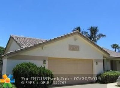 Boca Raton Single Family Home For Sale: 21234 Hazelwood Ln