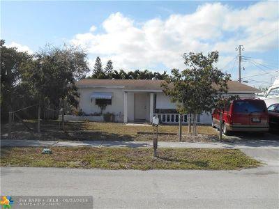 Pompano Beach Single Family Home For Sale: 3421 NE 12th Ave