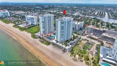 Pompano Beach Condo/Townhouse For Sale: 1360 S Ocean Blvd #305