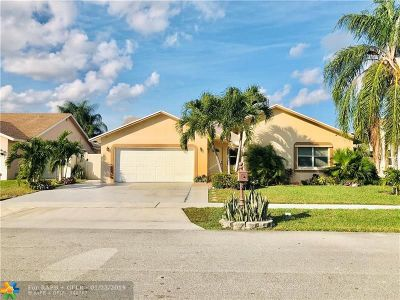Boca Raton Single Family Home For Sale: 8895 SW 18th Rd