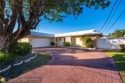Fort Lauderdale Single Family Home For Sale: 3041 NE 40th St
