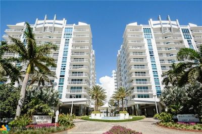 Fort Lauderdale Condo/Townhouse For Sale: 2821 N Ocean Blvd #205S