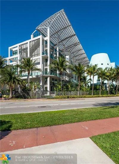 Miami Beach Condo/Townhouse For Sale: 6000 Collins Ave #327