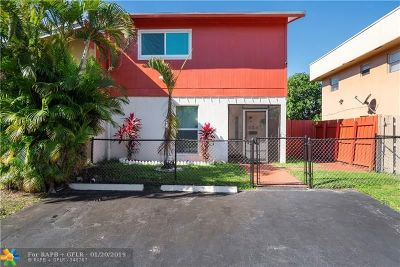 North Lauderdale Condo/Townhouse For Sale: 624 SW 80th Ter #624