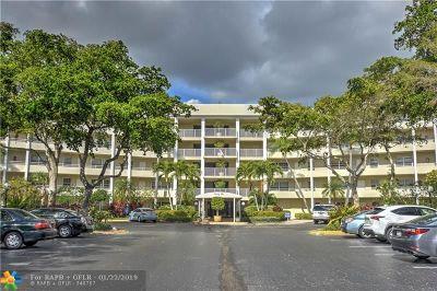 Pompano Beach Condo/Townhouse For Sale: 805 Cypress Blvd #404