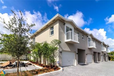 Fort Lauderdale FL Condo/Townhouse For Sale: $295,000